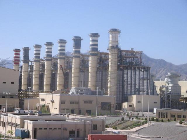 Kerman combined cycle powerplant